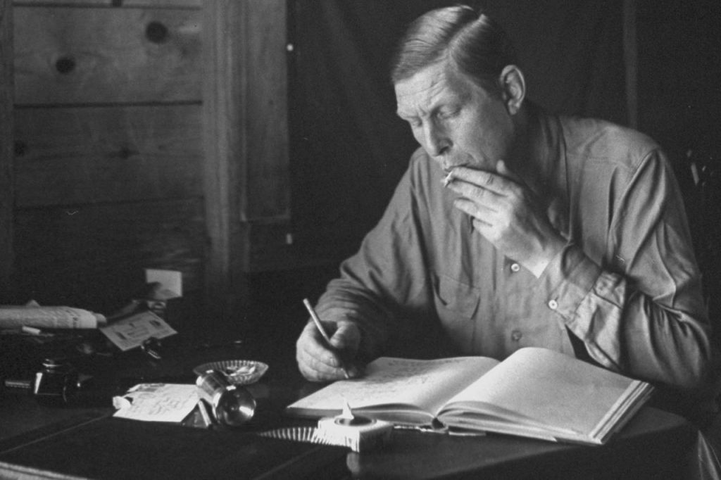 w.h. auden on how to review a book