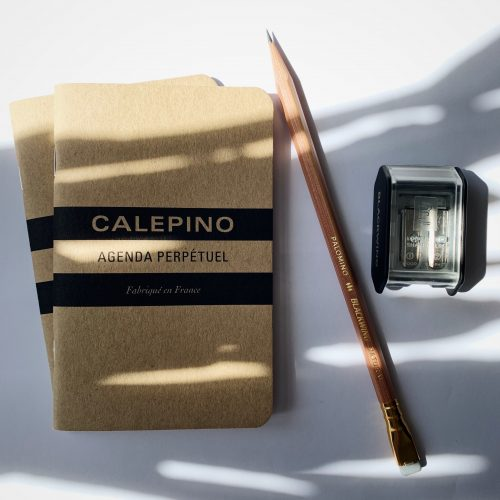 blackwing natural with pocket notebooks